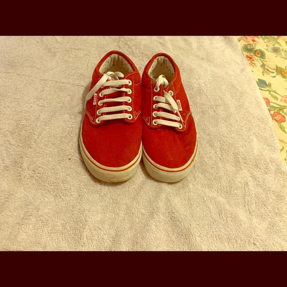 red vans size 1